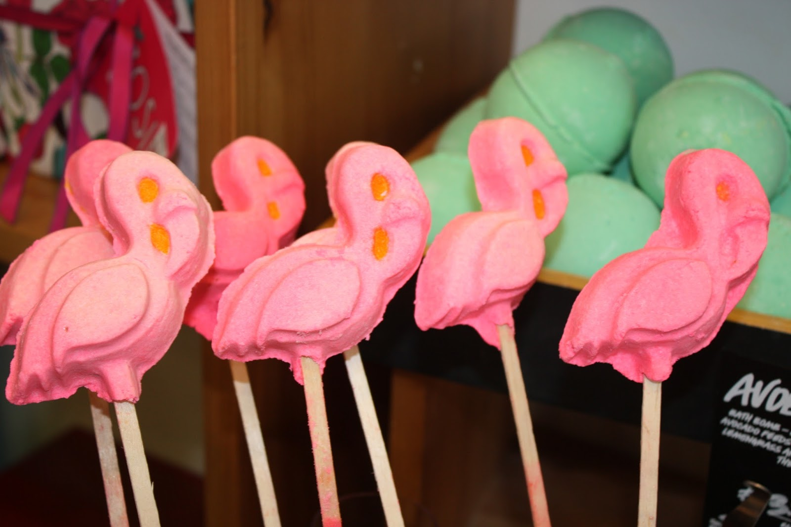 Lush Summer Event Oxford Street Launch Pink Flamingo