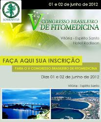 V CONGRESSO BRASILEIRO DE FITOMEDICINA
