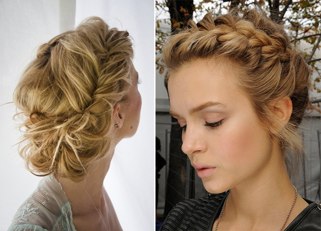 Beauty Talk Amp Tips How To Style A Low Braided Updo