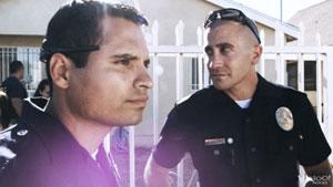 Michael Peña y Jake Gyllenhaal en Sin tregua