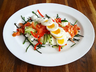 Cottage Cheese & Samphire Salad