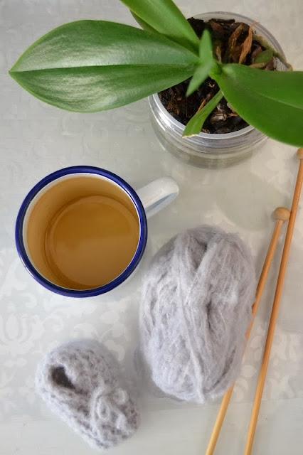 modèle tricot facile chausson bébé