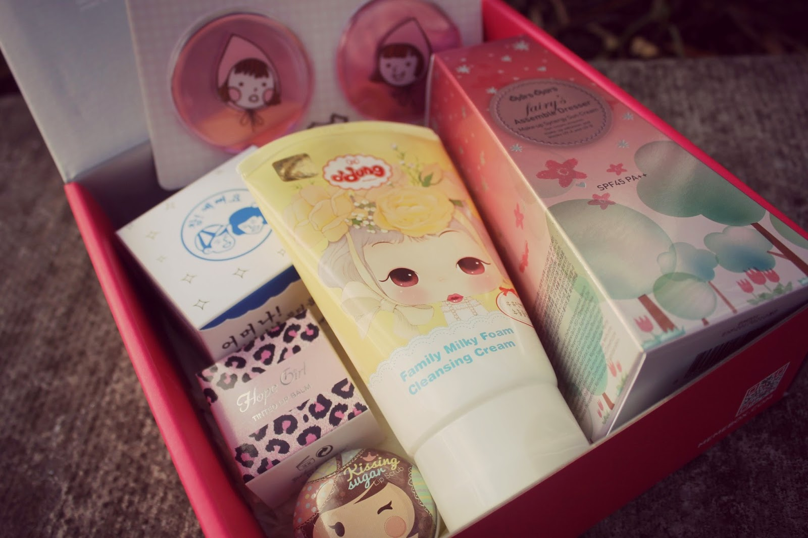 cute korean cosmetics