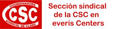 Sección Sindical de la CSC en everis Centers