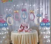 Decoración para un Baby Shower