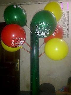 Tiang untuk Balon