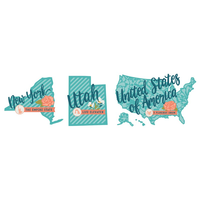 CTMH's Cricut Hello USA Digital Collection (Z3390)
