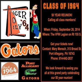 9-26 Class Of 1964 50 Year Reuion