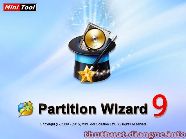 Download MiniTool Partition Wizard Server Edition 9 – Phân vùng ổ cứng