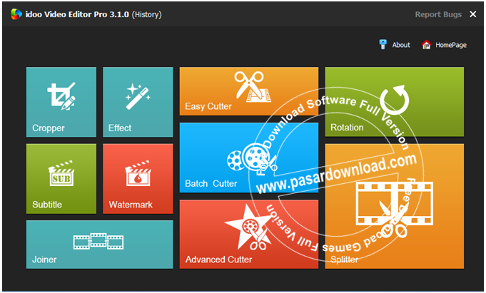 Download idoo Video Editor Pro 3.1.0 Full Version