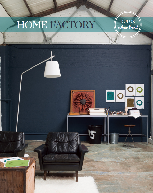 Dulux Colour Trend Home Factory Bright Bazaar By Will