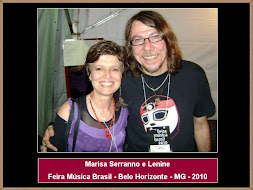 Marisa Serranno e Lenine - FMB 2010 - Belo Horizonte - MG