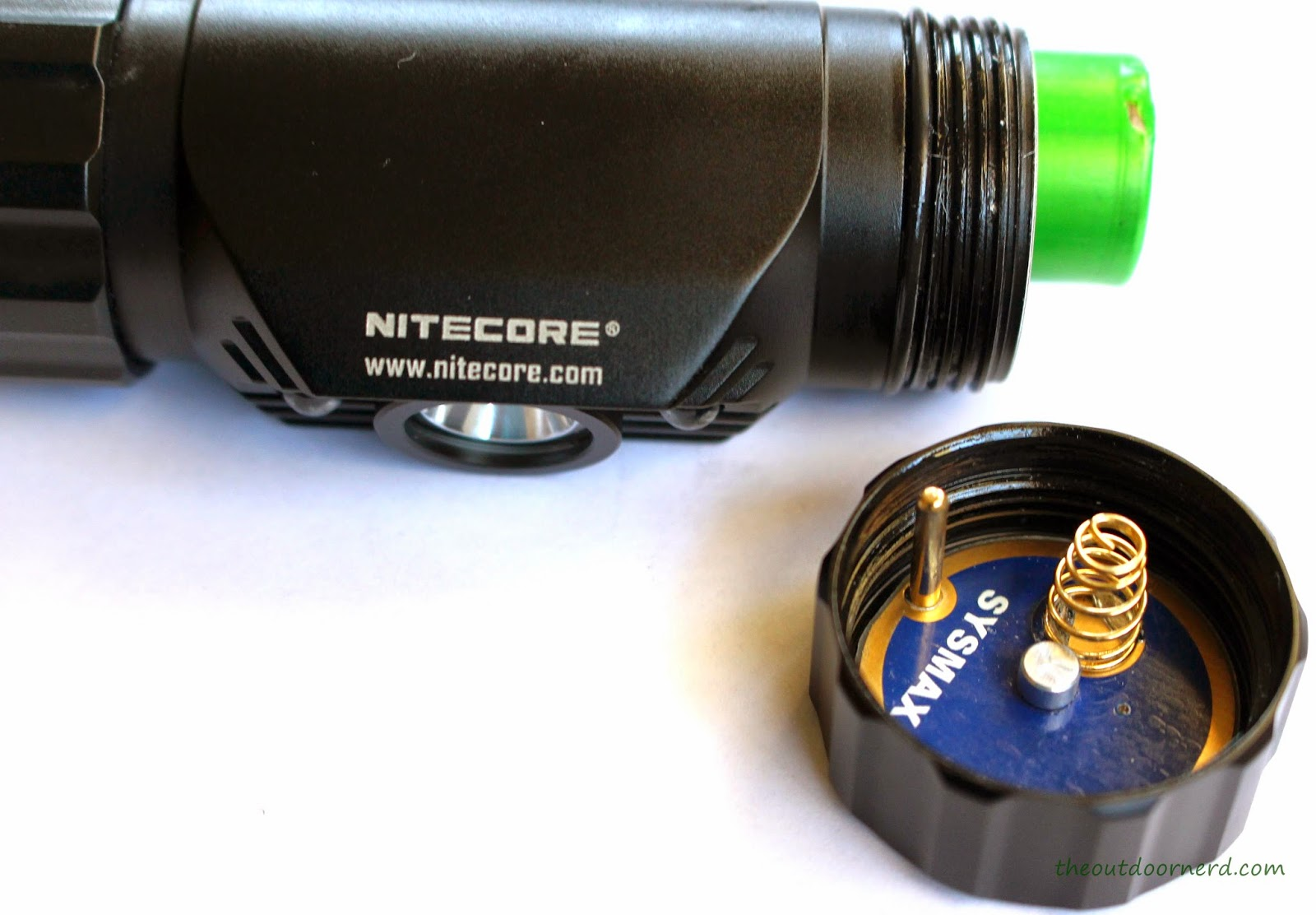 Nitecore HC50 Headlamp With Cap Off