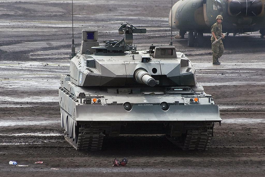 japon +Type+10+%252810%25E5%25BC%258F%25E6%2588%25A6%25E8%25BB%258A+Hito-maru-shiki-sensya%2529+Japanese+main+battle+tank+Japan+Ground+Self+Defense+Force+%25281%2529