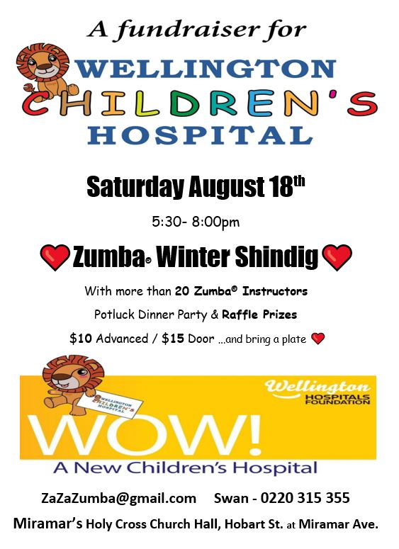 Wellington Children's Hospital Fundraiser
