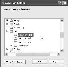 Mengunci Folder