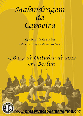 Capoeira meeting of the group Preservação da Mandinga in Berlin