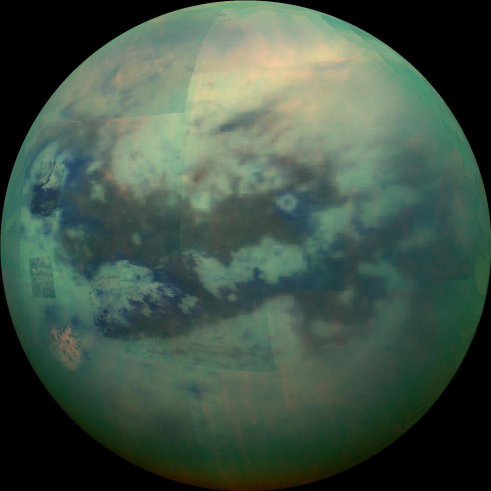 Titán, luna de Saturno.