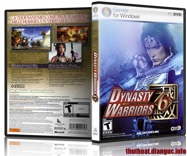 Download Game Dynasty Warriors 6 - RELOADED Full Crack