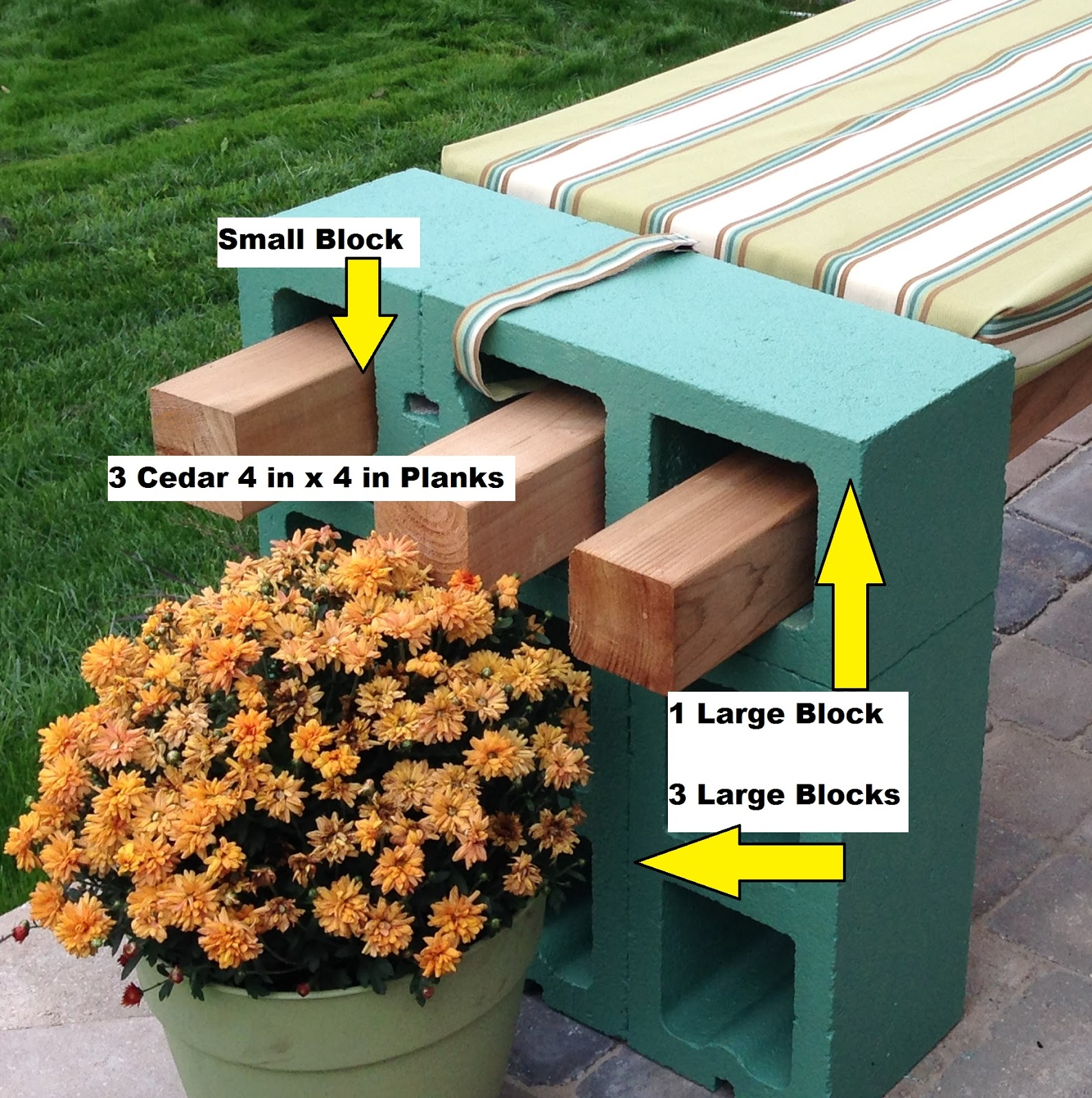 Design Cinder Block Bench cinder block bench do it yourself by kimberly benchspecifics jpg