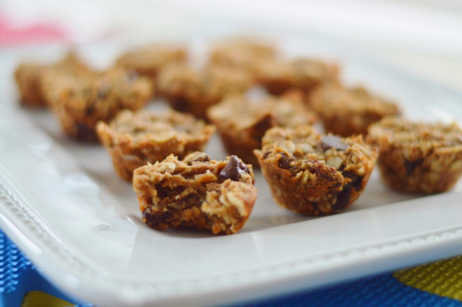 The Art of Comfort Baking: Mini Oatmeal Chocolate Chip Muffins