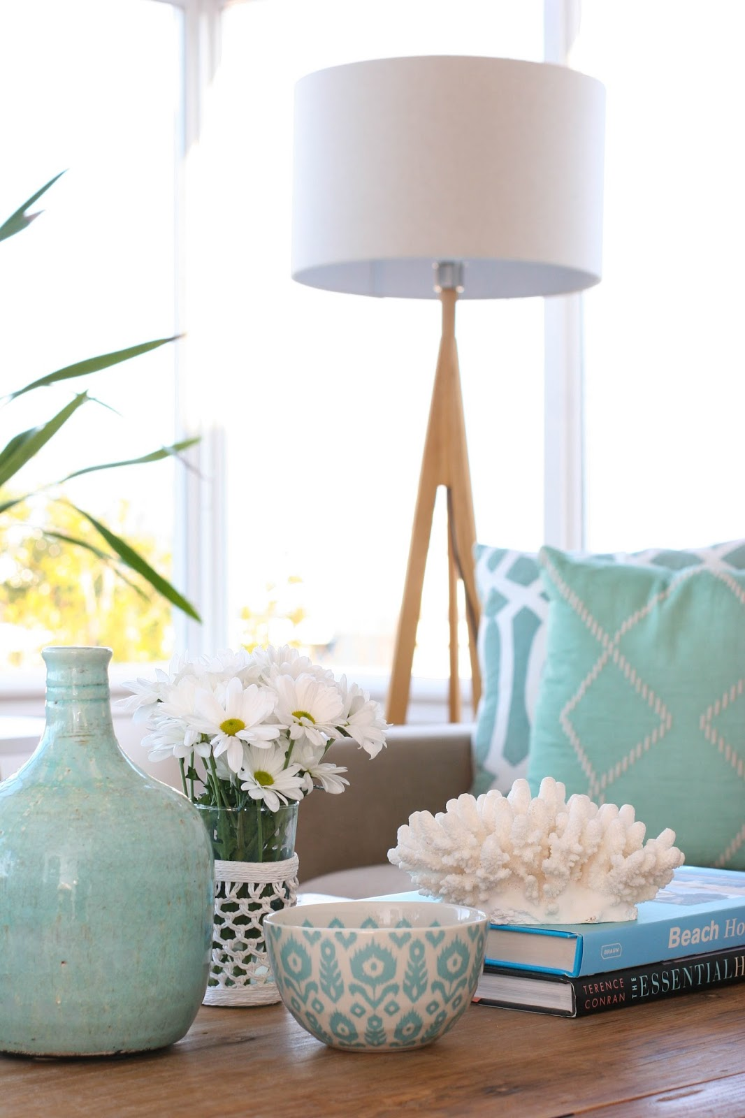 Coastal Style: My Living Room Style