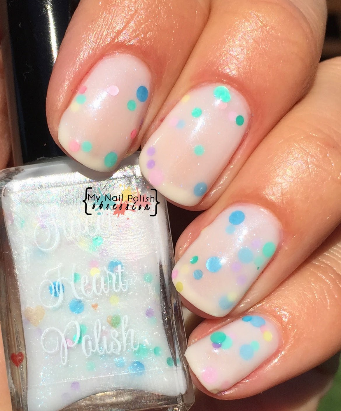 Sweet Heart Polish Don't Touch My CAKE!