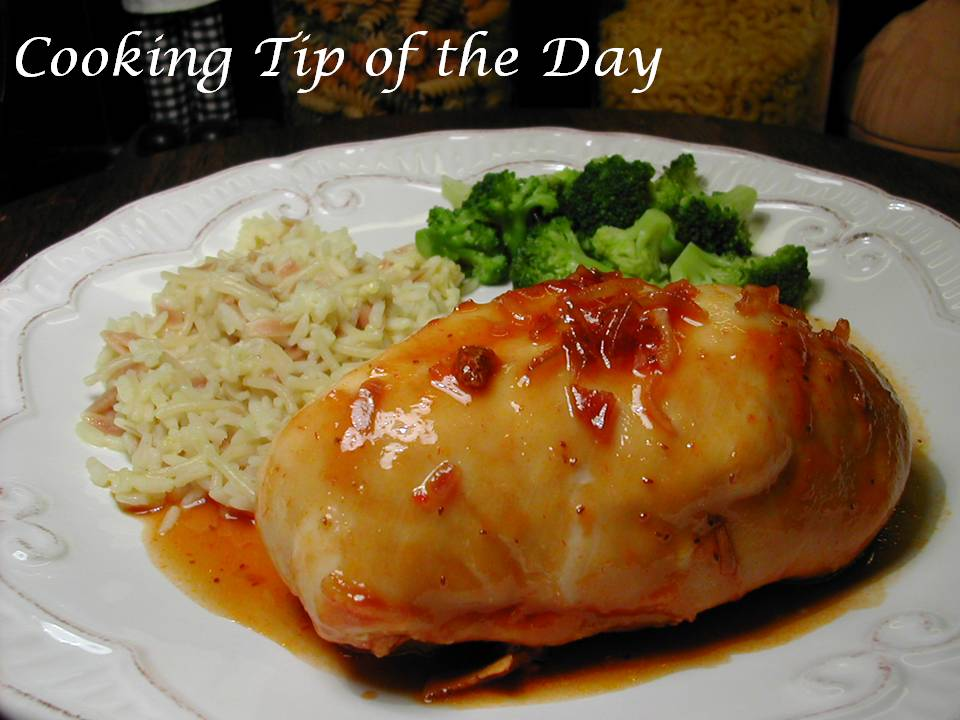 Cooking Tip of the Day: Recipe: Quick and Easy Apricot Chicken
