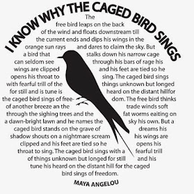 I Know Why The Caged Bing Sings by Dr. Maya Angelou