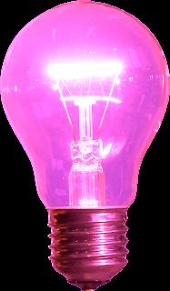 pink+light+bulb - Pink, pink, pink