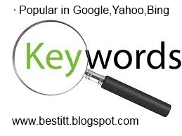 What People Search For Most Popular Keywords in Google,Yahoo,Yotube,BIng