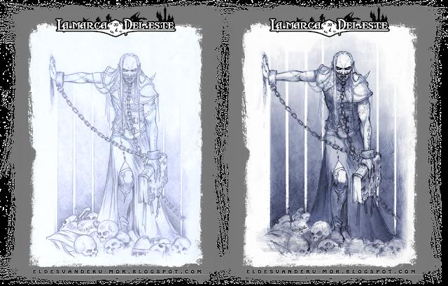 Dibujo vampiro Lord Gruvagh - ªRU-MOR _ La Marca del Este