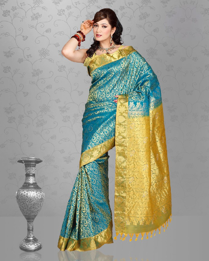 Wedding saree collection 2013 2014 indian wedding saree designs