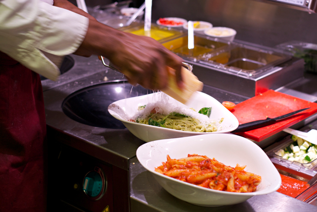 Vapiano kitchen behind the scenes