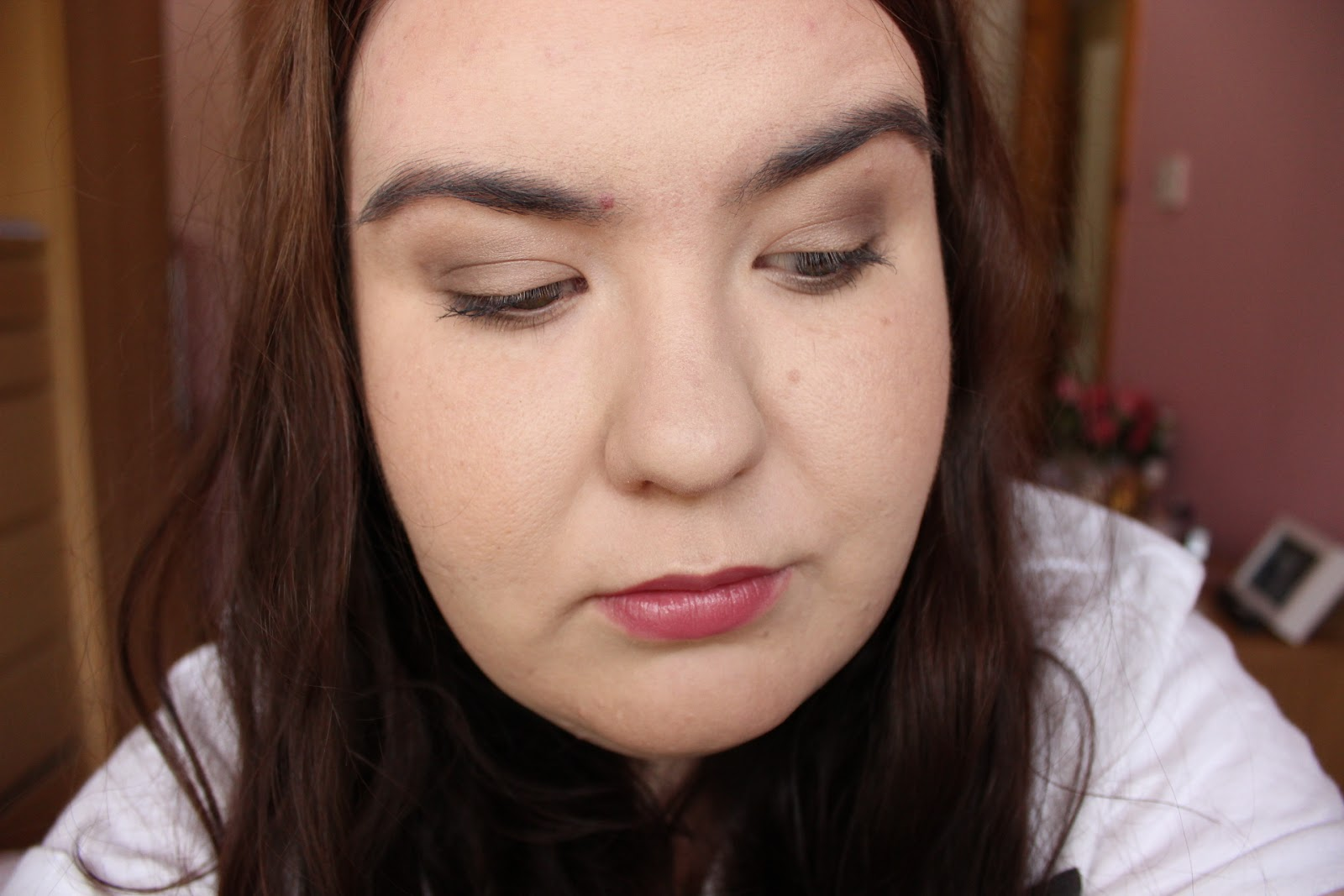 neutral eye makeup look