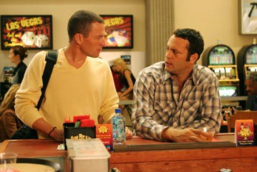 Lance Armstrong y Vince Vaughn en 'Pelotas en juego'