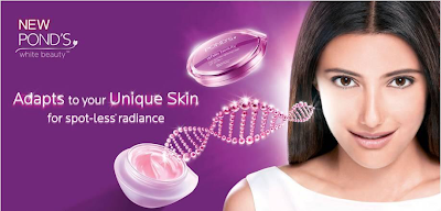 Find your Perfect Match with Pond's White Beauty
