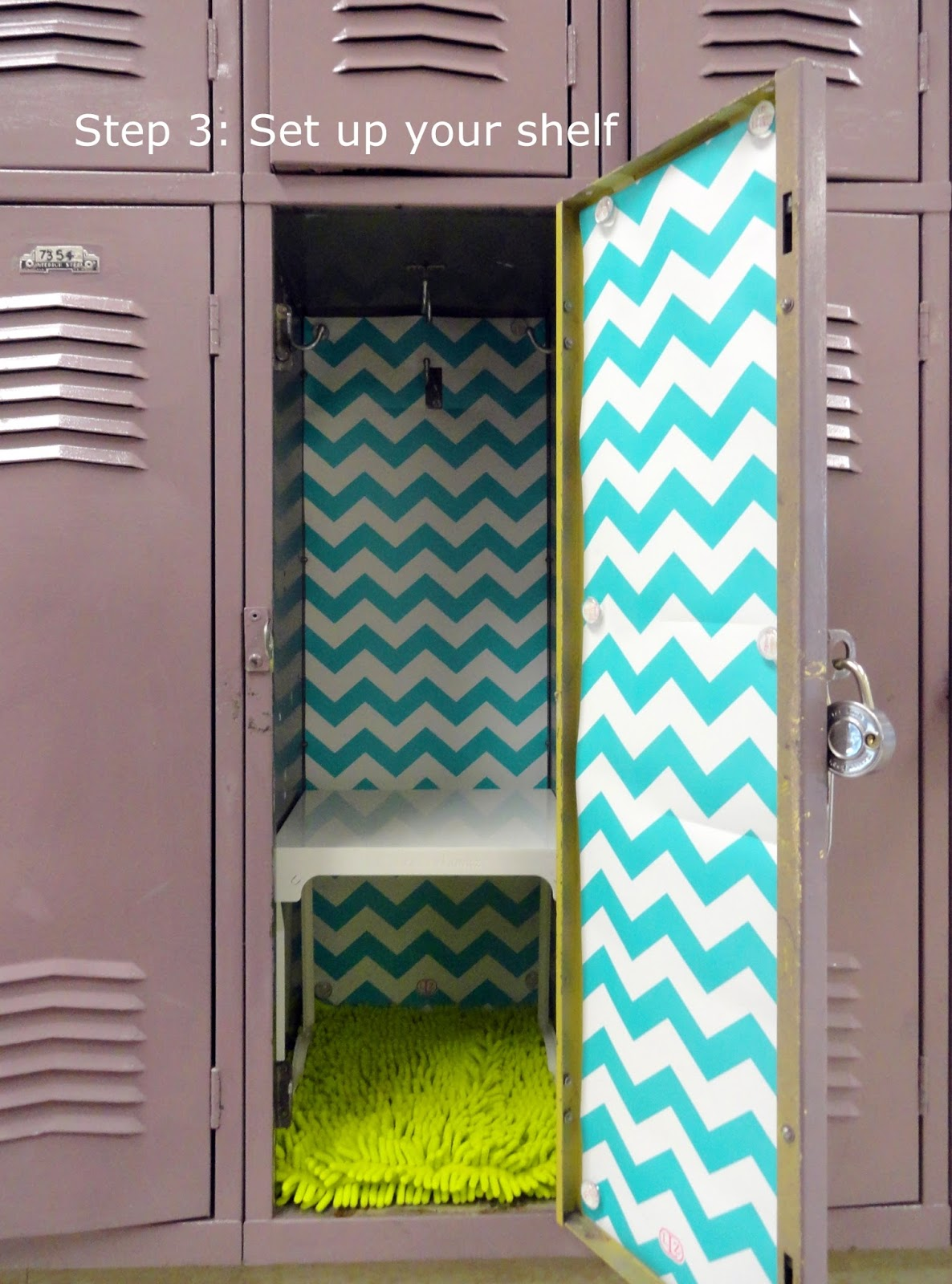 5 simple steps to decorating a fabulous locker with locker lookz im sure it was a man who designed lockers arubaitofo Images