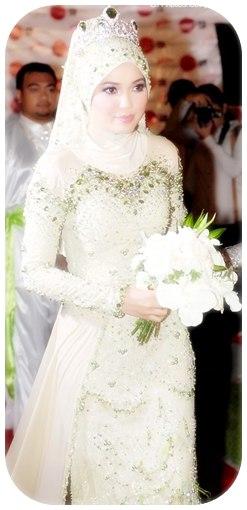 """Koleksi Baju Pengantin Muslimah 2014"""""""
