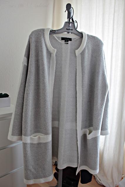 Fashion | Novemberausbeute, blog, shoppingausbeute, josie´s little wonderland, november, cardigan, grey, white, primark