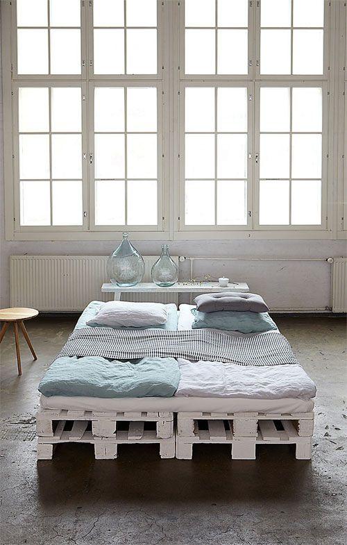 cama de palés