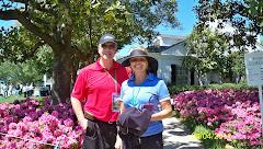 Cathy & Jim at the Master's