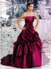 vestido de novia de color 2013