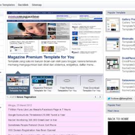 Yahoo Premium Template