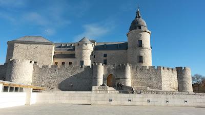 Castillo de Simancas, convertido en el Archivo General de Simancas.