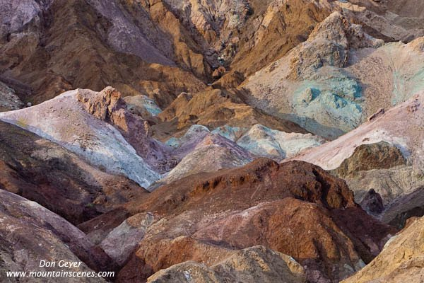 Artist's Palette in Death Valley National Park, California, USA.