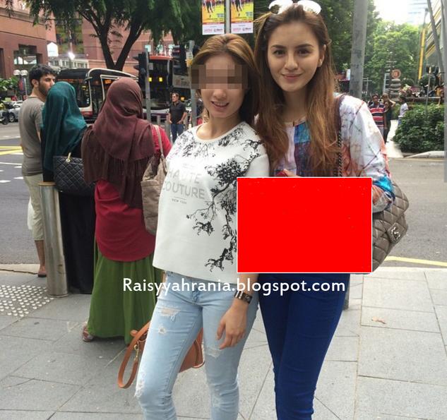 Gambar Hot Hanez Suraya Bercuti Di Singapura