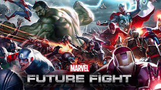 Screenshots of the Marvel: Future fight for Android tablet, phone.