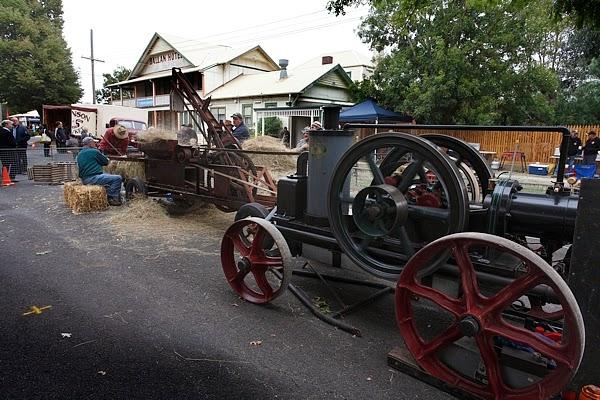 Steam Driven Hay-Baler