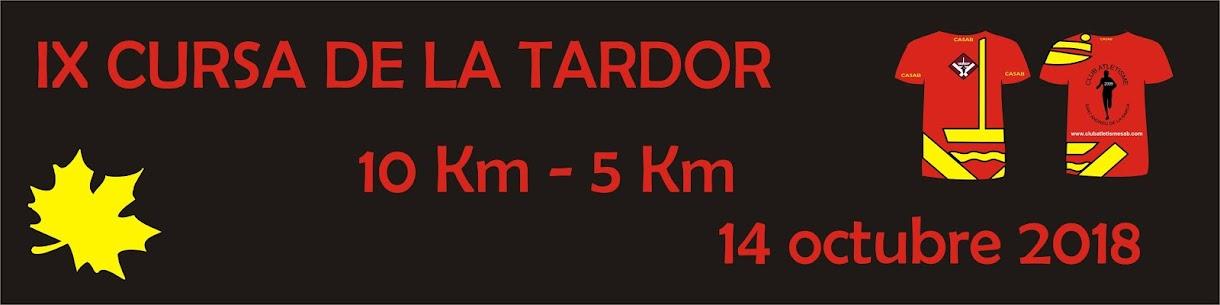 9ª CURSA DE LA TARDOR - 10K y 5K